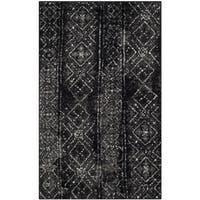 Safavieh Adirondack Maisie Vintage Boho Black/ Silver Rug - 3' x 5'