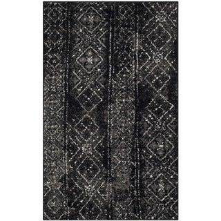 Safavieh Adirondack Vintage Boho Black/ Silver Rug - 3' x 5'