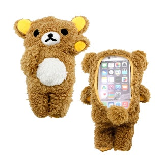 Gearonic Cute Lovely Plush Cover Teddy Bear Case for Apple iPhone 6 6S