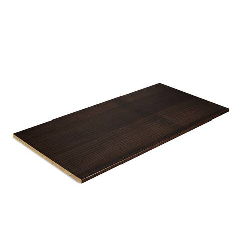 Grain Wood Furniture Shaker Solid Wood Shelf