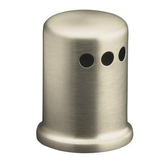 Kohler Air Gap Cover with Collar in Vibrant Brushed-Nickel