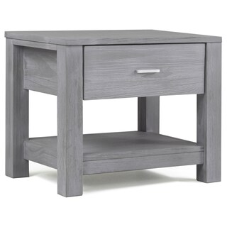 Grain Wood Furniture Loft Solid Wood 1-drawer Nightstand (3 options available)