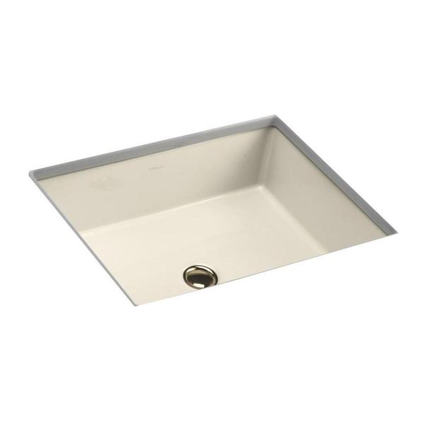 Kohler Verticyl Rectangle Undermount Bathroom Sink In Almond