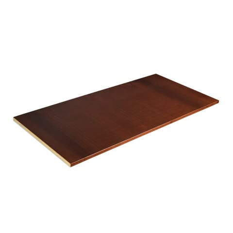 Grain Wood Furniture Shaker Cherry Finish Optional Shelf