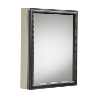 Kohler 20 inch x 26 inch H. Recessed or Surface Mount Mirrored Medicine Cabinet in Oil Rubbed Bronze