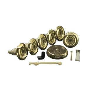 Kohler Flexjet Whirlpool Trim Only in Vibrant Polished Brass