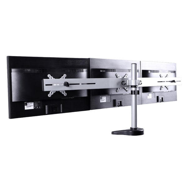 Shop Fleximounts 10 To 27 Inch Triple Lcd Monitor Stand