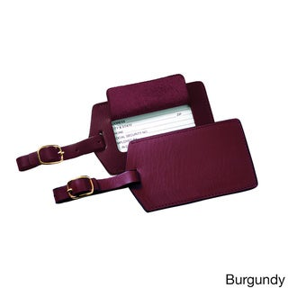 Royce Leather Genuine Leather Luggage Tag