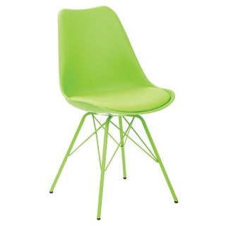 Student Task Chair with 4 Leg Base (Option: Green)