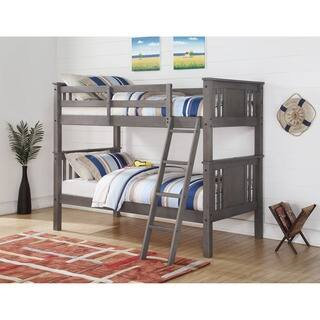 Shop Donco Kids Mission Twin Twin Bunk Bed On Sale Free