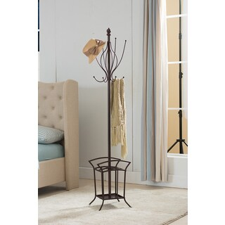 K&B Coat Rack with Umbrella Stand
