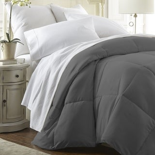 Merit Linens Down Alternative Comforter (Options: Twin Xl, White)