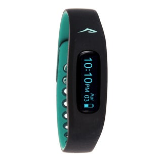Everlast Wireless Fitness Activity Waterproof Tracker W/LED Display / Sleep Turquoise TR2 Monitor Watch
