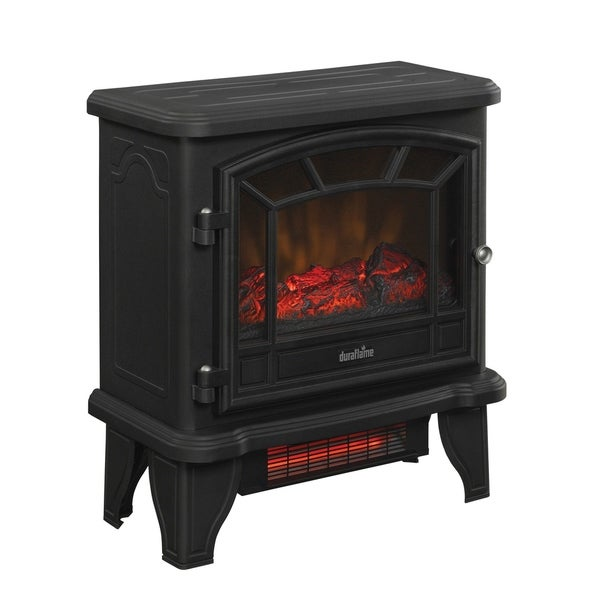 Duraflame Free Standing Quartz Electric Heater with Remote Control. Opens flyout.