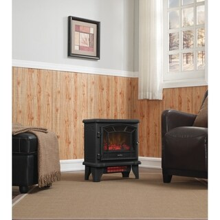 Duraflame Free Standing Quartz Electric Heater with Remote Control