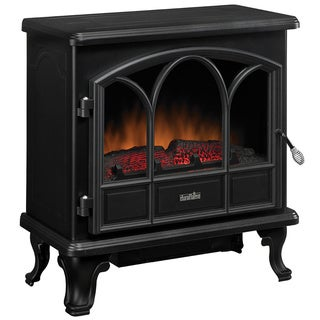 Duraflame DFS-750-1 Black Pendleton Electric Stove Heater