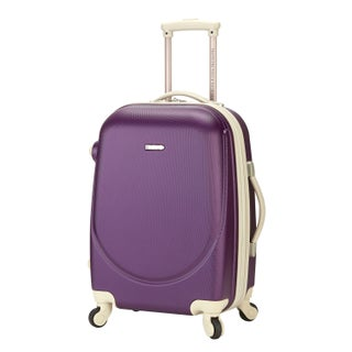 Traveler's Club Barnet 20-inch Hardside Expandable Spinner Carry-On Suitcase (Option: Purple)