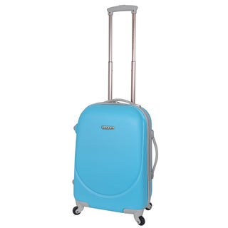 Traveler's Club Barnet 20-inch Hardside Expandable Spinner Carry-On Suitcase