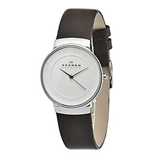 Skagen Women's SK-SKW2058 Brown Leather Watch