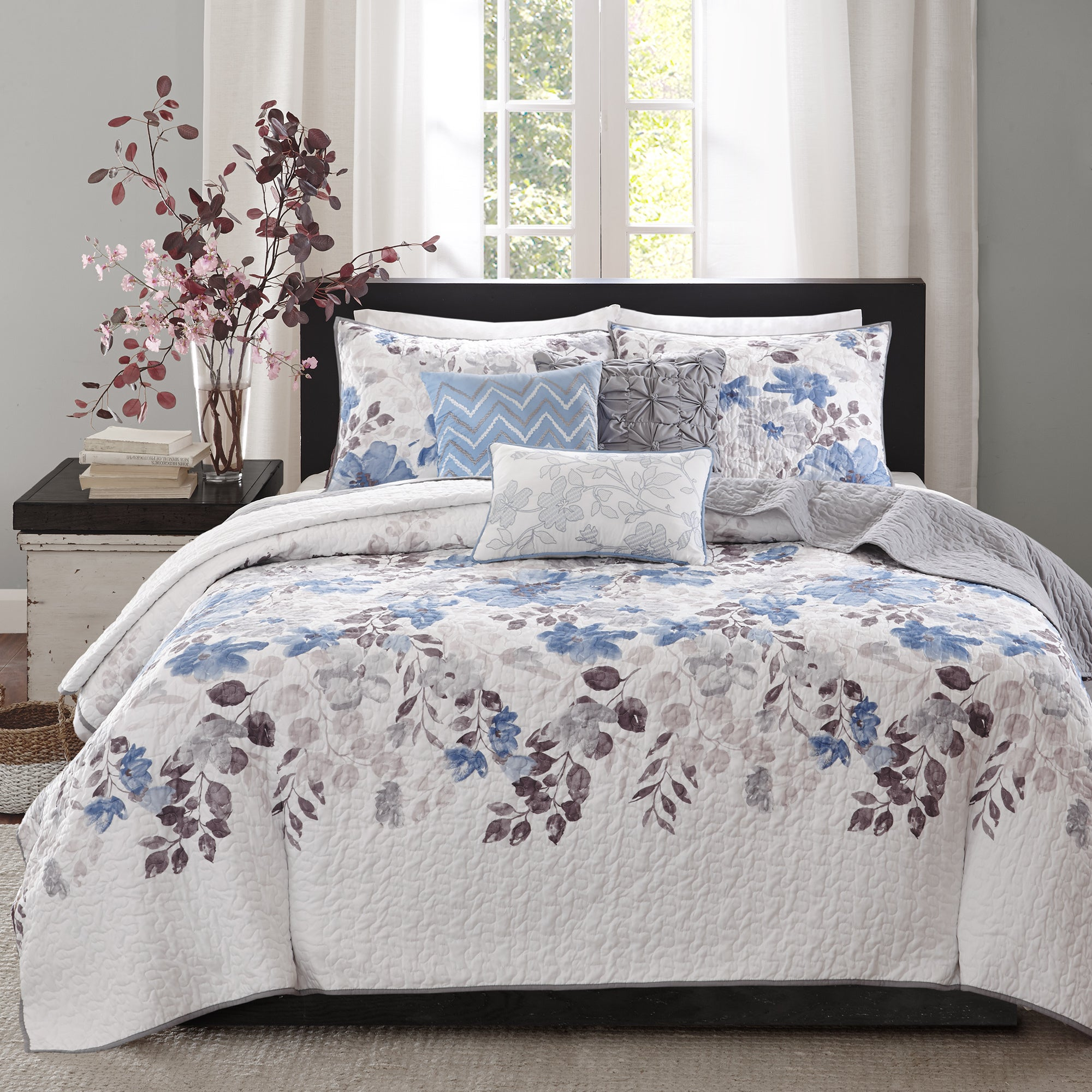 raven bedroom set. Advertisement Madison Park Raven 6 Piece Quilted Coverlet Set  On Sale Free