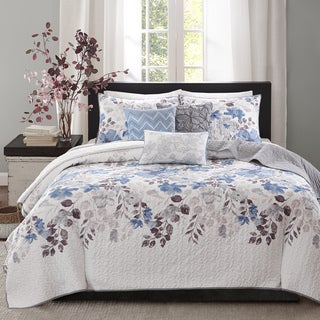 Link to Madison Park Raven 6-Piece Quilted Coverlet Set Similar Items in Quilts & Coverlets