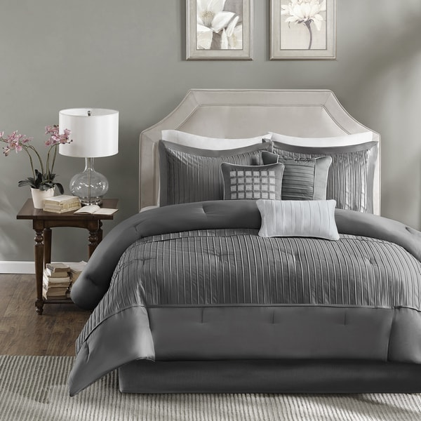 jla sets grey infinity set home madison piece and queen info park furnishings polyester garden comforter black