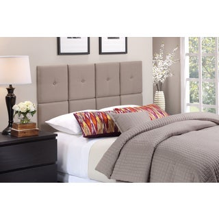 Foremost Tessa Tuft Taupe Fabric Headboard Tiles