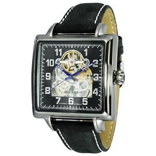 Adee Kaye Men's AK8022 Skeletal Design Automatic-Mechanical Timepiece