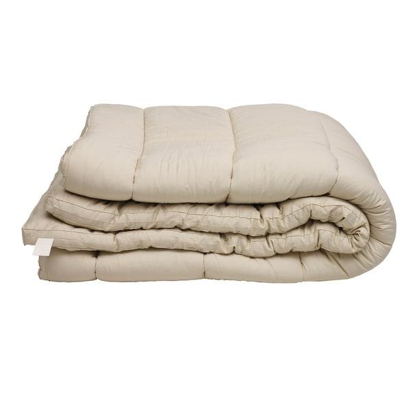 Shop Sleep   Beyond Organic myMerino Wool Mattress Topper - Free ... 0f1be00c94