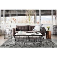 Aurelle Home Mirabelle Modern Coffee Table