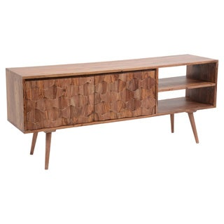 Aurelle Home Mid Century Modern TV Media Console