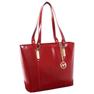 McKlein USA Savarna Fashion Tablet Tote Bag (Option: Red)
