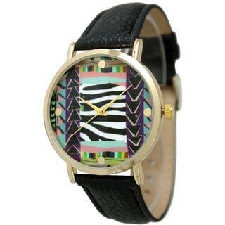 Olivia Pratt Women's Fun Mixed-Pattern Watch