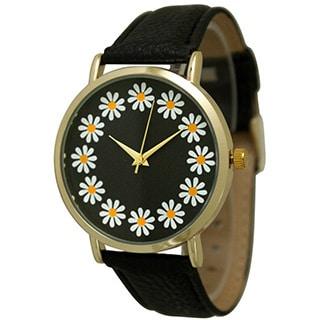 Olivia Pratt Women S Simple Flower Print Watch