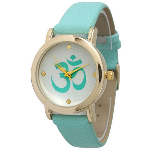 Olivia Pratt Women's Ohm Emblem Watch