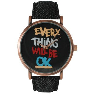 Olivia Pratt Women's 'Everything Will Be Ok' Watch