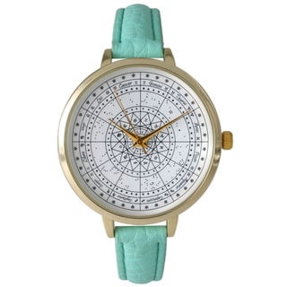 Olivia Pratt Women's Astrological Compass Watch
