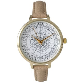 Olivia Pratt Women's Astrological Compass Watch