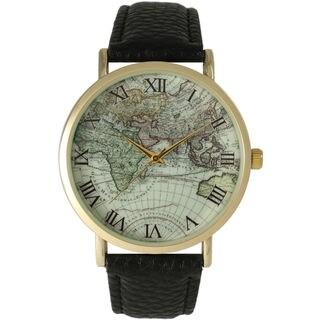 Olivia Pratt Women's Atlas Leather Watch