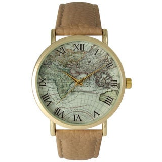 Olivia Pratt Women's Atlas Leather Watch