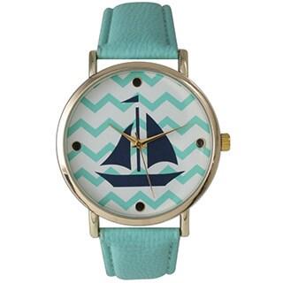 Olivia Pratt Women's Chevron Sailboat Watch