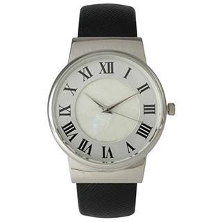 Olivia Pratt Women's Simplistic Leather Cuff Watch