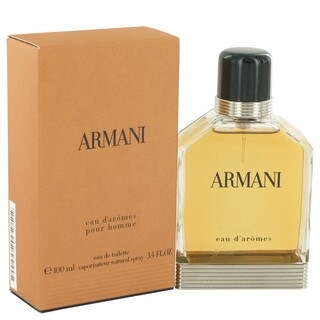 Giorgio Armani Eau D'Aromes Men's 3.4-ounce Eau de Toilette Spray