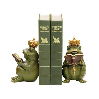 Sterling Superior Frog Gatekeeper Bookends