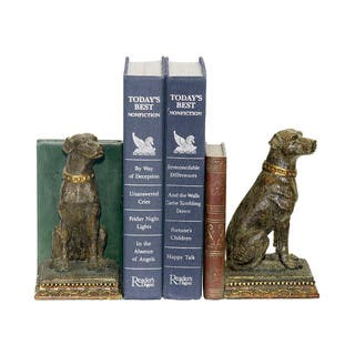 Sterling Chocolate Lab Bookends|https://ak1.ostkcdn.com/images/products/10584411/P17659338.jpg?impolicy=medium
