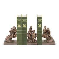 Sterling Secret Tree Bookends (Set of 3)