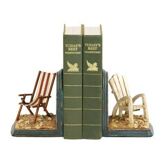Sterling Pair of Beach Chair Bookends