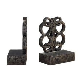 Sterling Durand Bronze Bookends