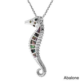 Mystical Seahorse .925 Sterling Silver Necklace (Thailand)