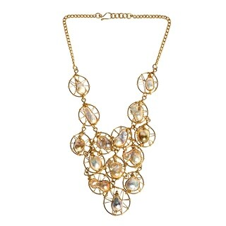 Handmade Floating Pearl Brass Necklace (Philippines)